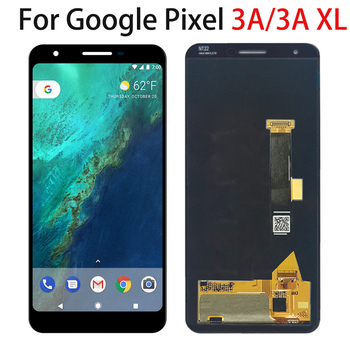 """LCD Screen For Google Pixel 3A G020F 5.6"""" Pixel 3A XL 6.0"""" LCD Display Touch Screen Panel Digitizer Assembly Repair Replacement"""
