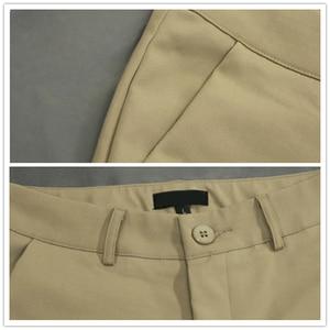 Image 4 - קוריאני אופנה מכנסיים נשים אביב חמוד 20 סוכריות צבעים מכנסי עיפרון אלגנטי בסיסי למתוח גדול גודל אמא מכנסיים חותלות מכנסיים
