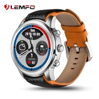 LEMFO LEM5 Smartwatch Android 5 1 GPS Watch 3G Support SIM Card Bluetooth Wifi Heart Rate