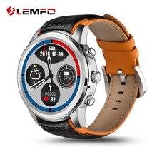 Купить онлайн LEMFO LEM5 Smartwatch Android 5,1 gps часы 3g Поддержка sim-карты Bluetooth, Wi-Fi монитор сердечного ритма сенсорный экран Android телефоны