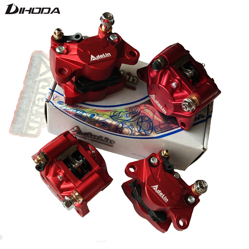 Adelin ADL 17 Motorcycle modification electric motorcycle adapter bracket double piston brake calipers For WISP RSZ