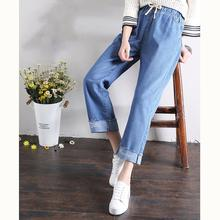 Женские прямые джинсы jujuland винтажные с высокой талией Длинные