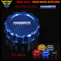 Blue Red Black Golden Titanium Motorcycle CNC Rear Brake Reservoir Cover Cap For BMW R1200GS Adventure