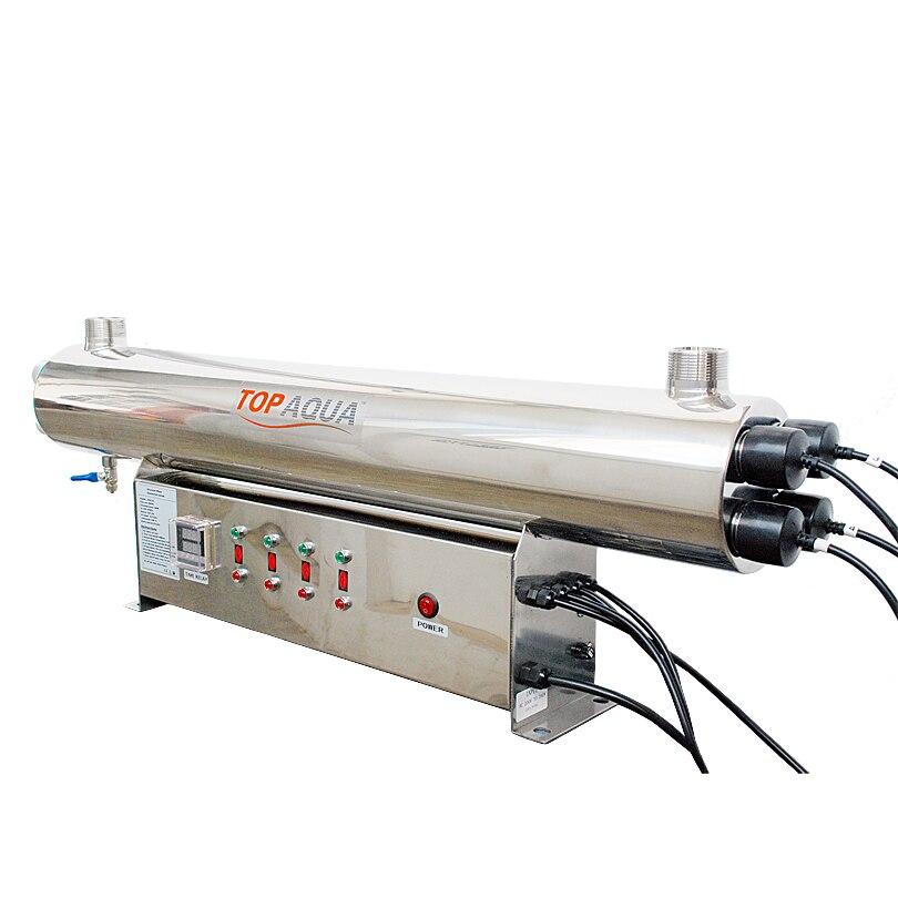 Coronwater SS304 48 SBV-5925-4P gpm Esterilizador UV Desinfecção Sistema CE, RoHS para Purificação de Água