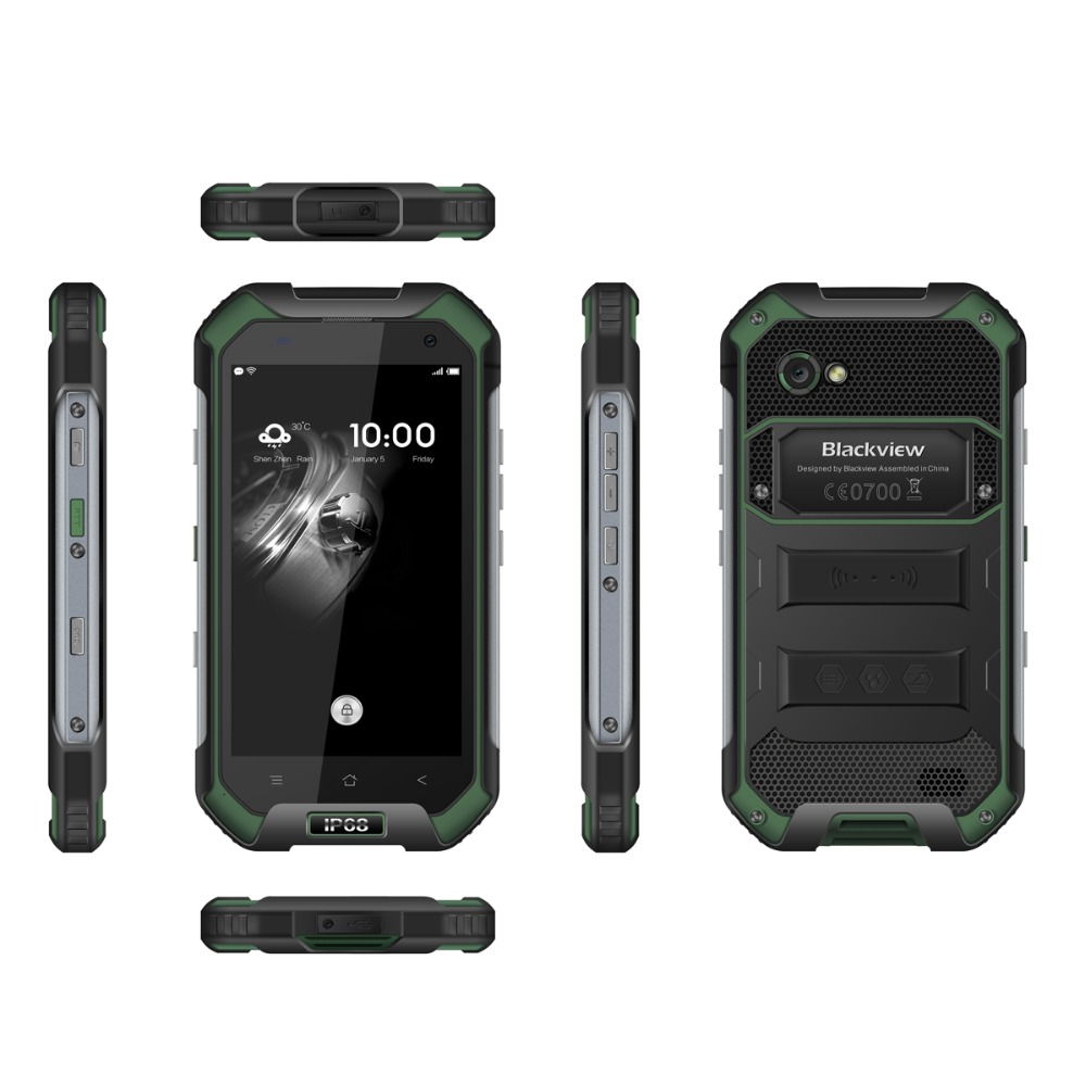"""Image 5 - Blackview BV6000S Original 4.7"""" IP68 Waterproof Rugged Mobile Phone 2GB+16GB 13.0MP 4500mAh Dual SIM 4G Tough Outdoor Smartphone-in Cellphones from Cellphones & Telecommunications"""