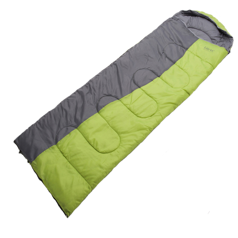 Outdoor Sleeping Lazy Bag Adult Thermal Autumn Winter Envelope Hooded Travel Camping Sleeping Bags Hot Sale 160906 winter thicken warm sleeping bag adult envelope outdoor ultralight camping travel bolsa termica waterproof breathable lazy bag