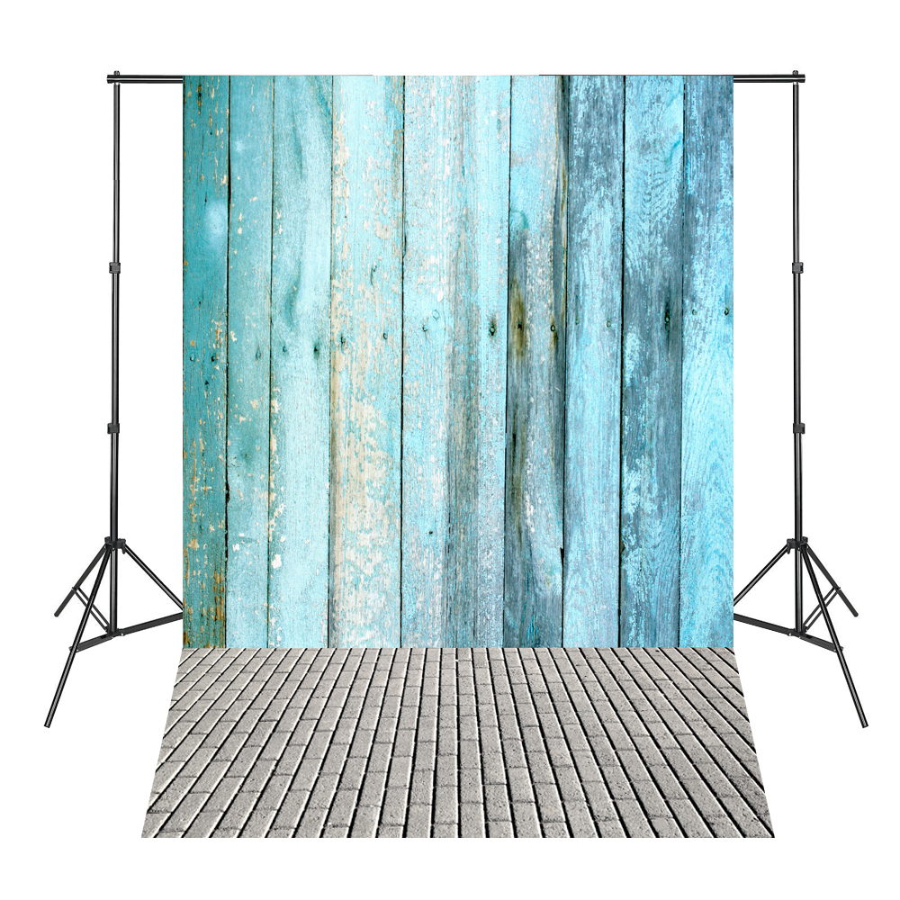 Blue Wood Board Brick Floor Photographic-background for Photo Shoots Vinyl Backdrops for Photography wedding photography background photo booth backdrops background for photographic studio balloon fantasy room pink wood floor