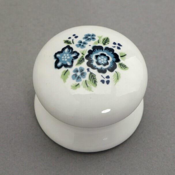 33mm ceramic kitchen cabinet knob white ceramic drawer pulls dresser cupboard wardrobe furniture handles pulls knobstc62a