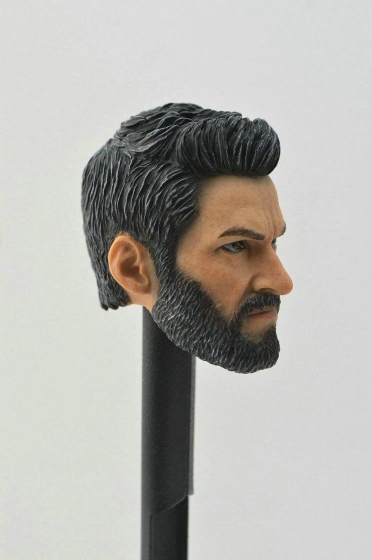 IN STOCK 1//6 Wolverine Head w// neck For Logan X-men Hugh Jackman SHIP FROM USA