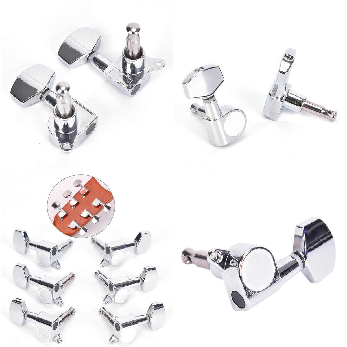 guitar sealed small peg for acoustic electric guitar guitar parts with logo tuning pegs tuner. Black Bedroom Furniture Sets. Home Design Ideas