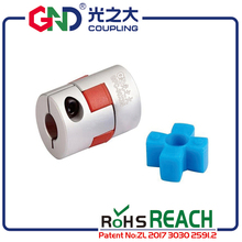 Free shipping GND coupling D20 L30 aluminum plum flower  flexible couples clamp Jaw spider shaped shaft coupler for CNC machine недорого