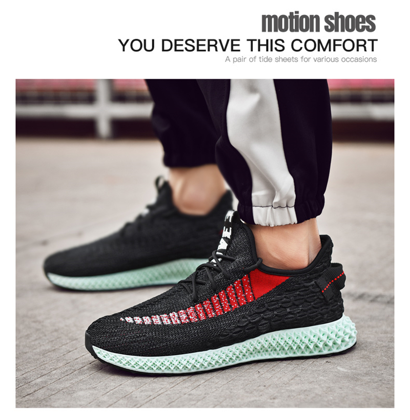 96955b7ff90c3 Size 39-46 New Men Sneakers Running Shoes For Men Outdoor Breathable  Comfortable Sports Shoe Man Athletic Shoe Zapatos De Mujer