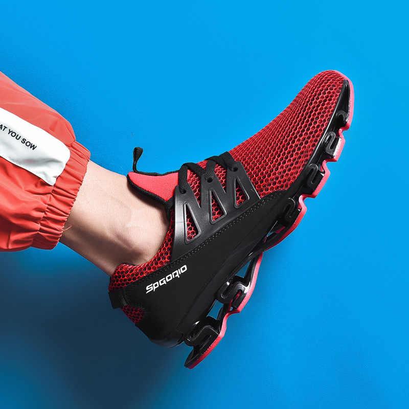 Männliche Schuhe Erwachsene Rot Schwarz Grau Komfortable Nicht-slip Weiche Mesh Männer Schuhe Atmungsaktiv Männer Turnschuhe Laufschuhe Größe 36-48