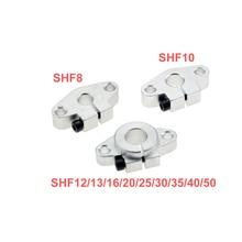 4 шт./лот SHF12 SHF8 SHF10 SHF35 SHF13 SHF16 SHF20 SHF25 SHF30 12 мм линейный рельс Поддержка вала XYZ настольный ЧПУ Router3D принтер Часть