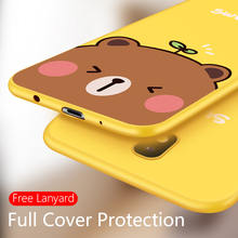 Silicone Case For Samsung Galaxy J8 2018 Cover Original 3D Relief J7 2017 Pro Cute Bumpers