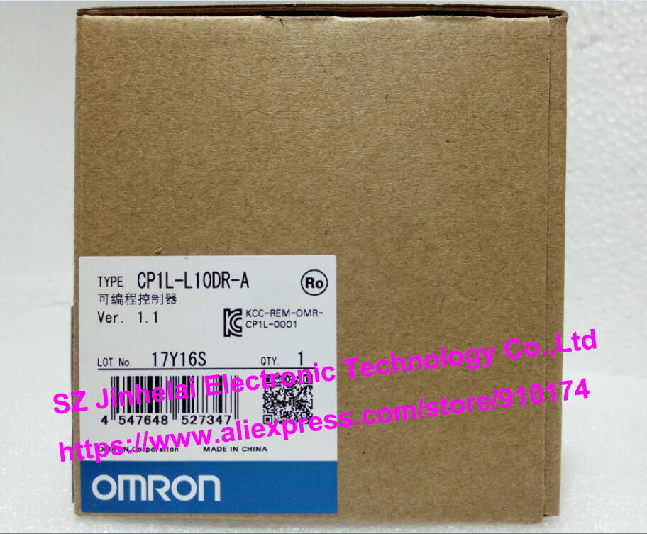 100% New and original  CP1L-L10DR-A  OMRON PLC CONTROLLER [zob] 100% new original omron omron proximity switch e2e x10d1 n 2m