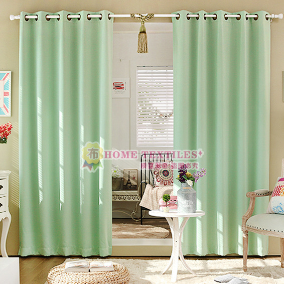Green Curtains black and green curtains : Popular Blackout Black-Buy Cheap Blackout Black lots from China ...