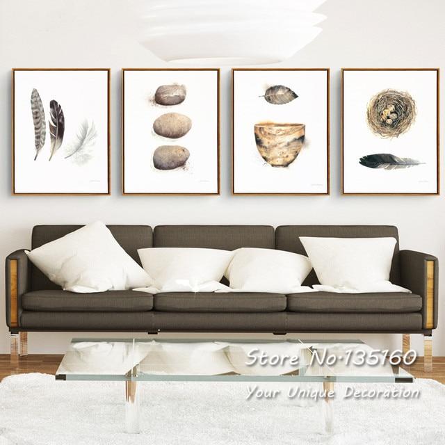 Home Living decoracin piedra Art Canvas painting imagic vida