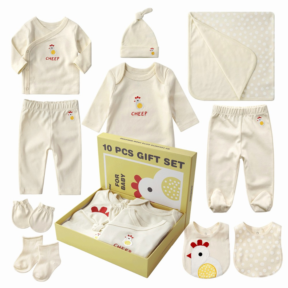 Top quality new born baby gift box,free shipping pure cotton infant clothes set new born baby gift box