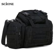 군사 전술 허리 가방 몰리 스포츠 어깨 가방 방수 옥스포드 캠핑 여행 하이킹 트레킹 위장 가방 xa739wa