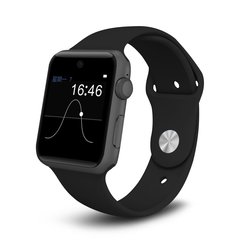 ZAOYOEXPORT Bluetooth Smart Watch DM09 with HD Screen SIM Card Magic Knob Handsfree Smartwatch for Apple