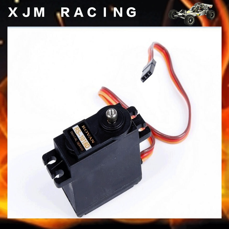 18Kg Digital Throttle Servo for 1/5 scale HPI KM RV baja 5b 5t 5sc rc car parts flywheel magneto fits 23cc 26cc 29cc 30 5cc cy fuelie engine for 1 5 hpi baja 5b 5t sc km rovan rc car toy parts