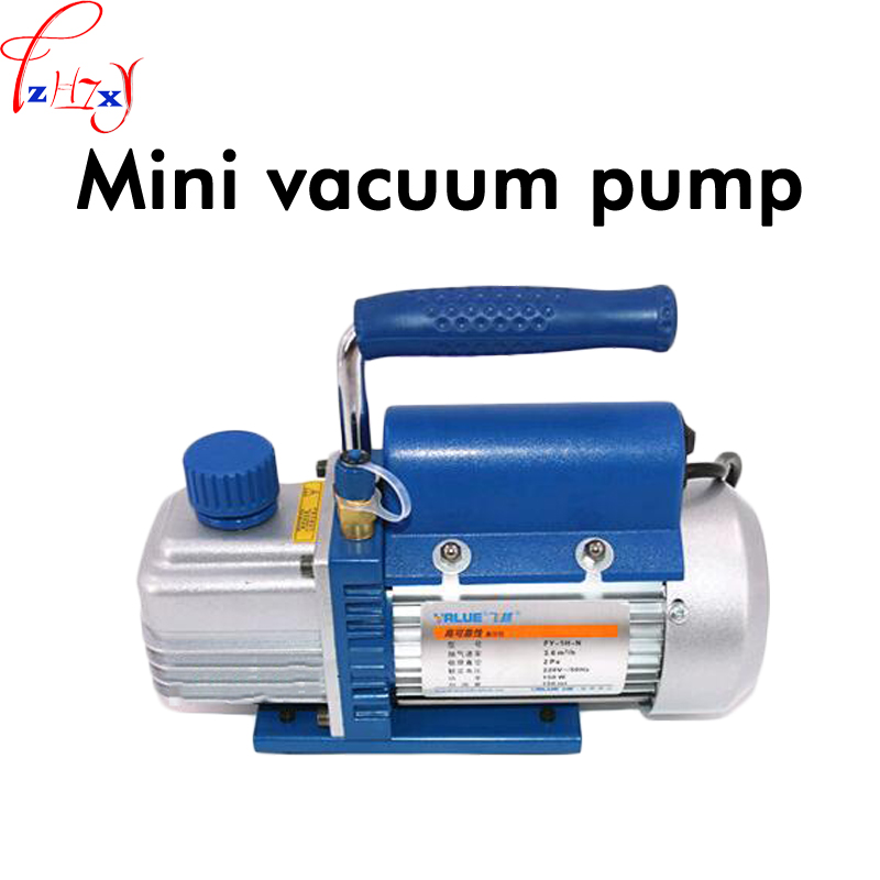 1L Mini Vacuum Pump FY-1H-N Experimental Pumping 3.6 m3/h /Air Conditioning Refrigerator/Fiber Model Vacuum Pump 220V 1PC