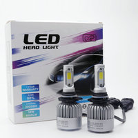 2x 9012 HIR2 8000Lm COB LED 72W Car Headlight Bulb Canbus 6500K Auto DRL Fog Driving
