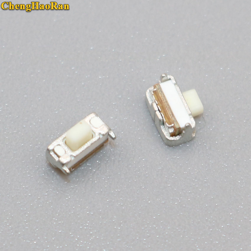 ChengHaoRan 20pcs New 4mm Power Switch Key Button Connector repair replacement for Zopo Amoi Alcate Oppo
