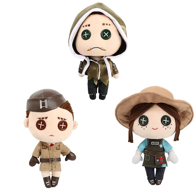 Game Identity V Plush Toys Gardener Mercenary Coordinator Cosplay Prop Doll Children Gift