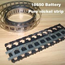 18650 batteria cintura nichel puro 3 P 4 P 5 P 6 P batteria al litio striscia di nichel piastra utilizzata per 18650 supporto della batteria Li Ion Ni