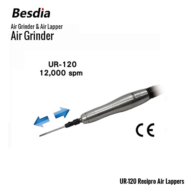 Taiwan Besdia Air Grinder & Air Lapper UR-120 Recipro Air Lappers