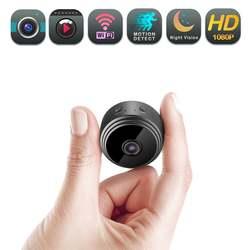 Wi-Fi, Камера, HD 1080 P Мини Камера обнаружение движения, светодиодный дисплей, Портативный камеры для домашней системы безопасности