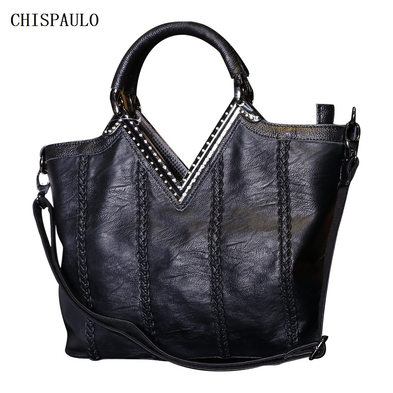 Genuine Leather Bags For Women Bags 2018 Luxury Brand Patent Handbags Designer High Quality Fashion Women's Shoulder Bags V52 new designer genuine leather women handbags high quality first layer leather bags for women fashion shoulder bags female ly163