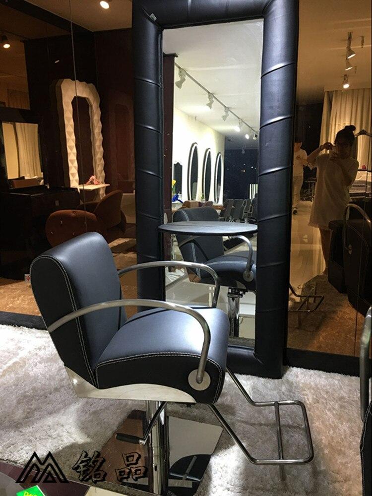 Die Neue Europäische Friseur Stuhl Friseurstuhl. Friseursalons Haarschnitt Stuhl