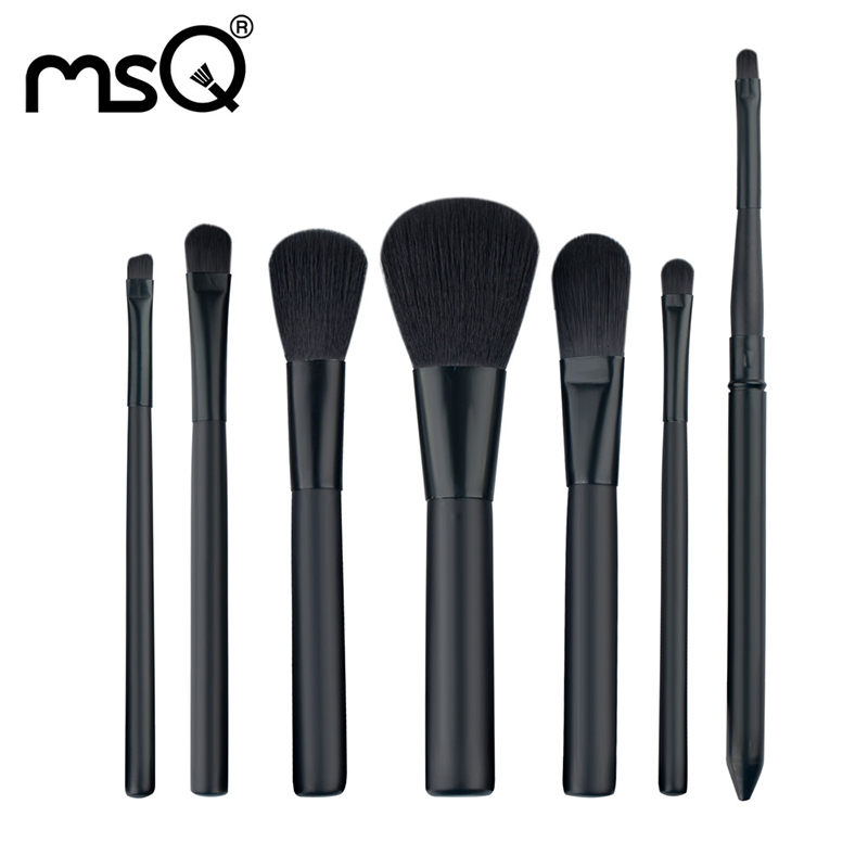 Makeup Brushes Set Make Up Brushes Professional Cosmetic Tool Sets 7 PCs Brush Kit For Makeup Woman Synthetic Hair Brush Set Hot free shipping durable 32pcs soft makeup brushes professional cosmetic make up brush set