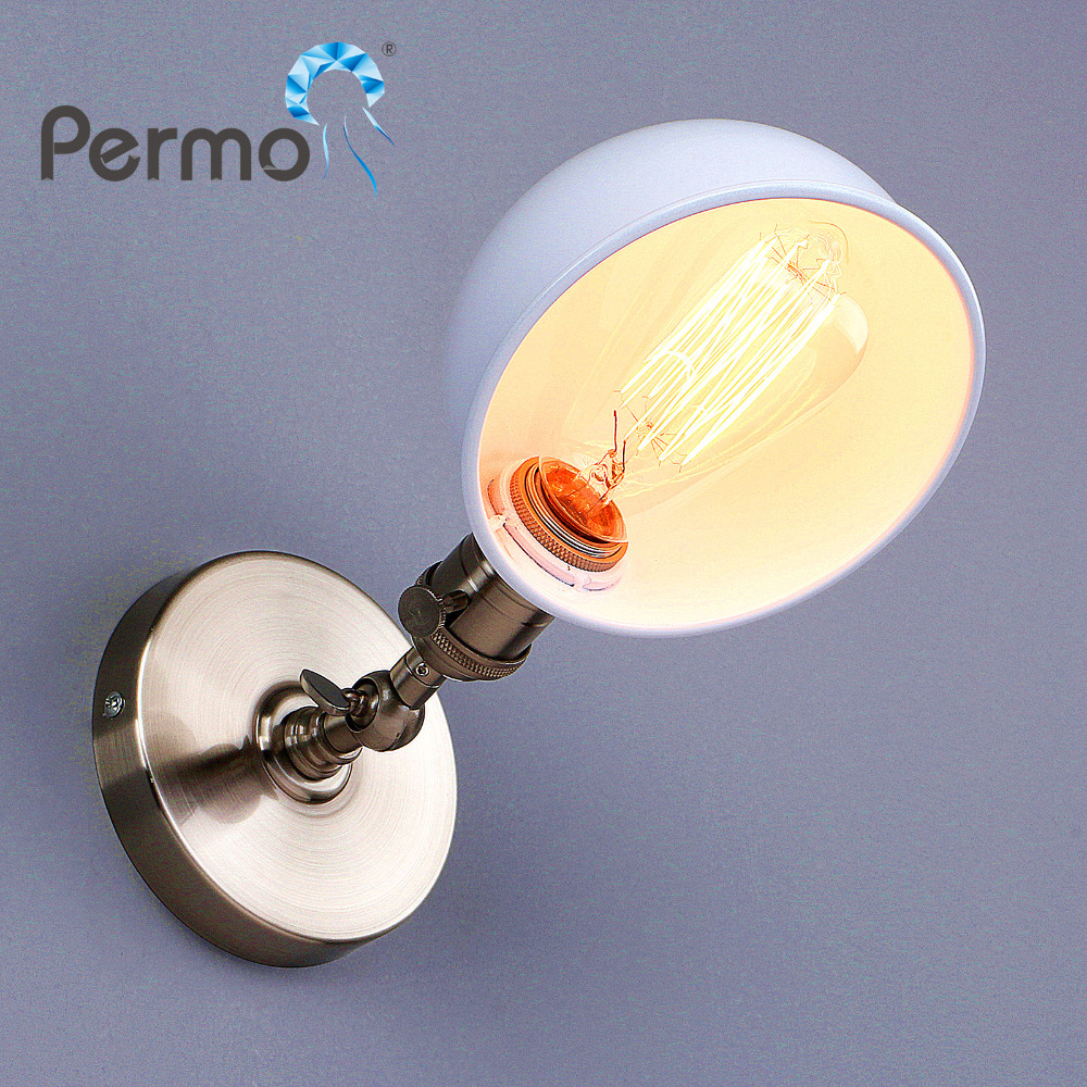 Permo E27 New Vintage Edison Wall Lamp Industrial Mechanical Arm France Jielde Wall Lamp Reminisce Retractable
