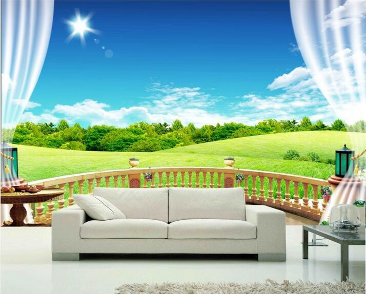Buy custom photo 3d wallpaper non woven for High end wallpaper