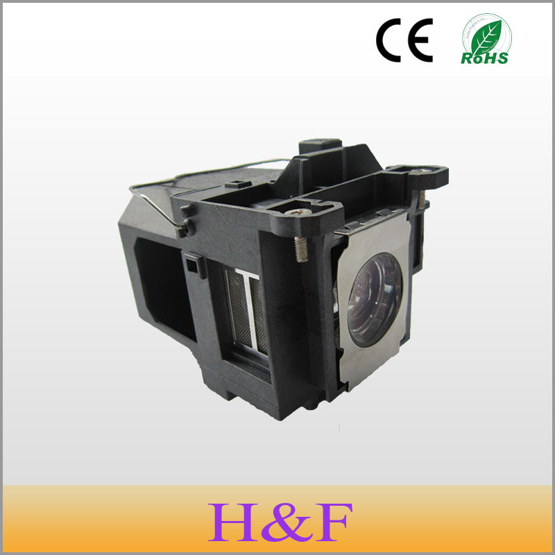 ФОТО 2pcs/lot ELPLP57(V13H010L57) Compatible Replacement Projector Lamp BulbWith Housing For Epson Proyector Projetor Luz Lambasi