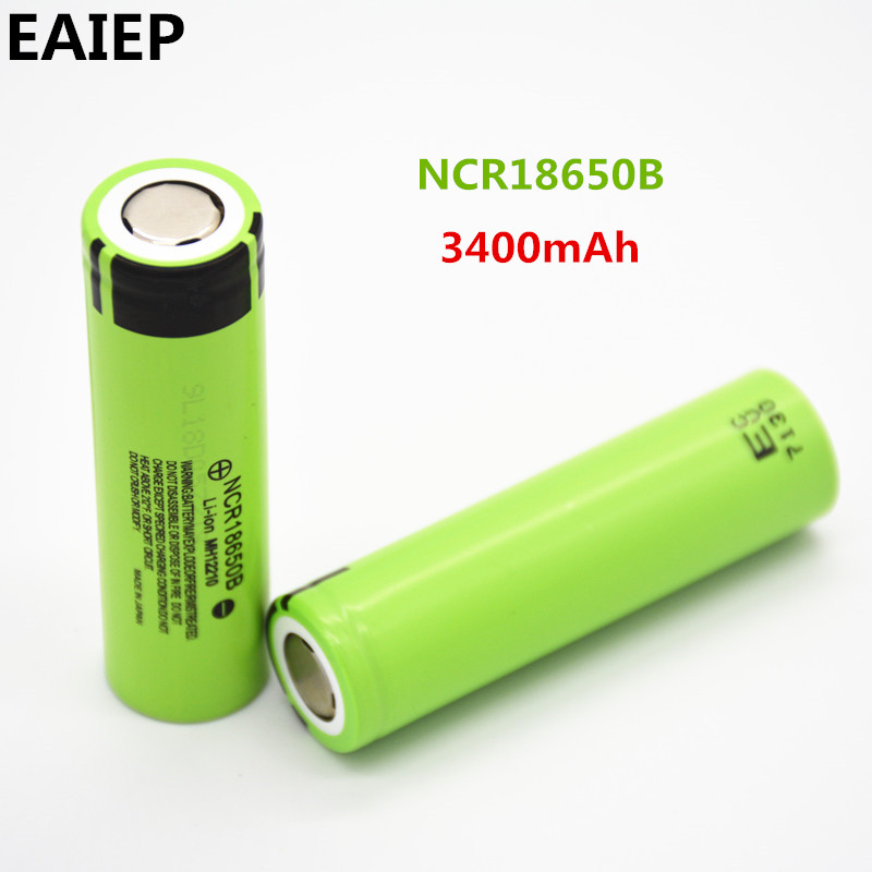 100% New Original NCR18650B 3.7 v 3400 mah 18650 Lithium Rechargeable Battery EAIEP Flashlight batteries 100% New Original NCR18650B 3.7 v 3400 mah 18650 Lithium Rechargeable Battery EAIEP Flashlight batteries