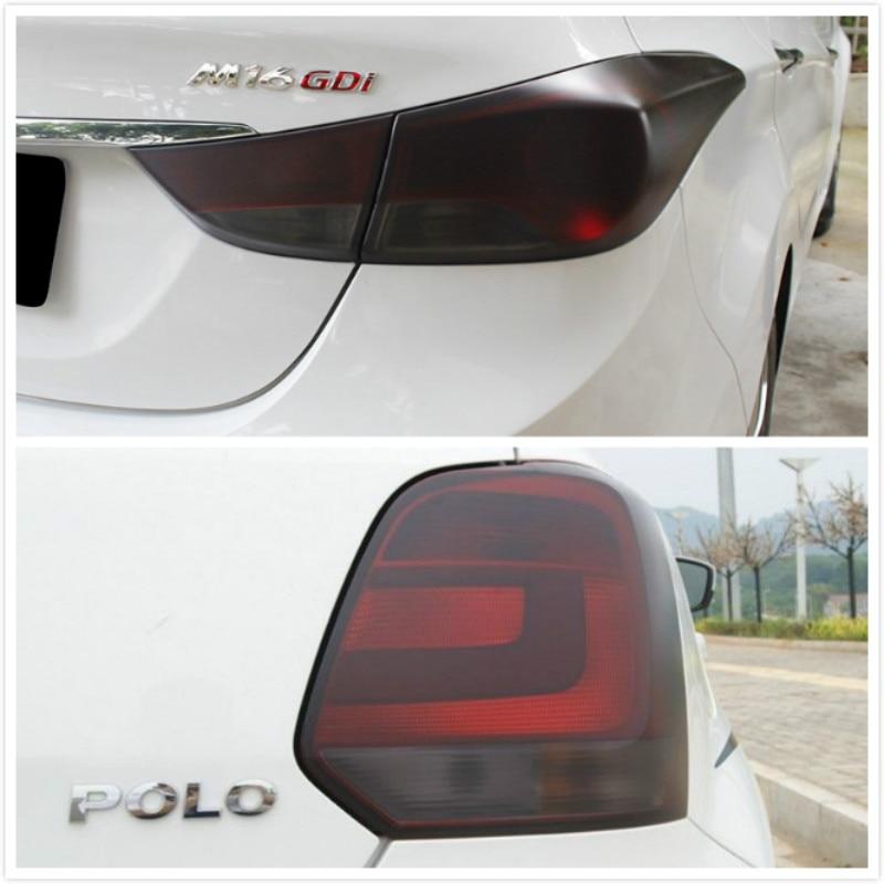 Auto Car Tint Headlight Taillight Fog Light Vinyl Smoke Film Sticker For BMW E34 F10 F20 E46 E39 E38 E90 E60 E36 F30 E92 E53 F22 2pcs lot 24 smd car led license plate light lamp error free canbus function white 6000k for bmw e39 e60 e61 e70 e82 e90 e92