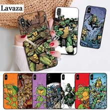 Lavaza Teenage Mutant Ninja Turtles Silicone Case for iPhone 5 5S 6 6S Plus 7 8 11 Pro X XS Max XR
