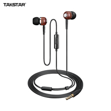 TAKSTAR HI1200 In-ear Dynamic Wired Headphones Earphones Earbuds 3.5mm Plug with Carry Bag(China)