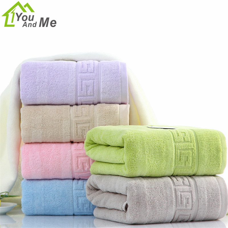 70x140cm 100% Cotton Bath Towel Bathroom Spa Beach Towels Cloth Washcloth Brand Family F ...
