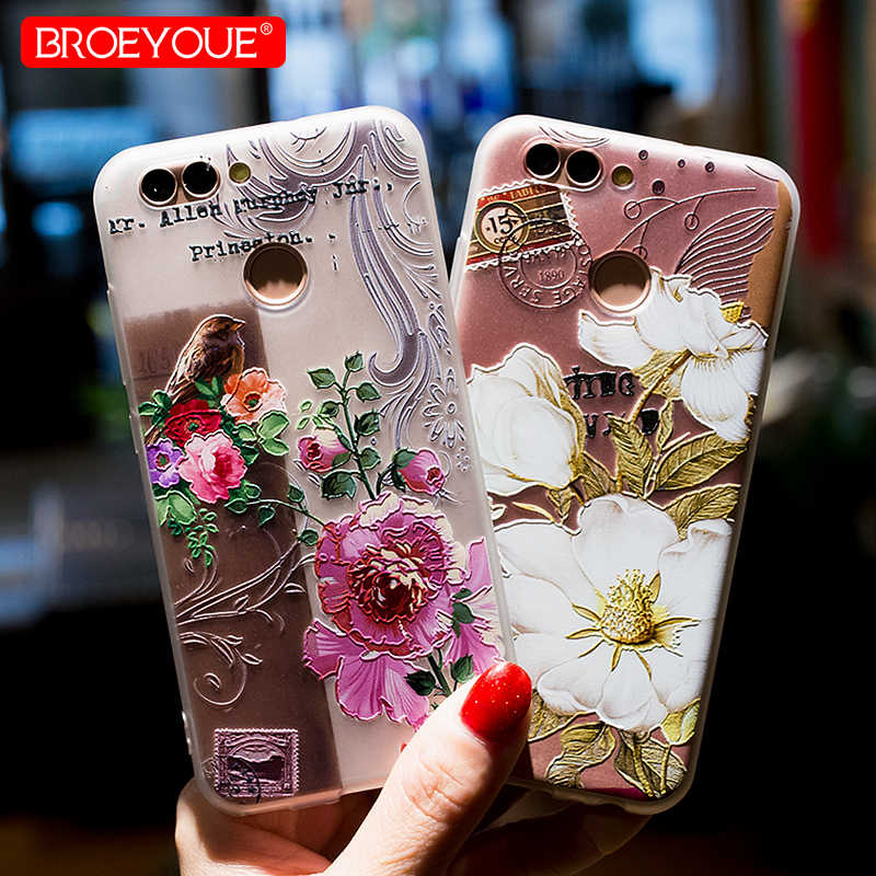 Case For Huawei Mate 20 Honor 9 Lite P20 P30 Lite P Smart 2019 Luxury Case P20 Pro P10 P9 P8 Lite Honor 10 Relief Soft TPU Case