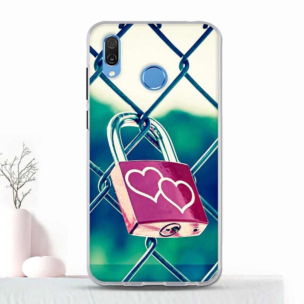 สำหรับ Huawei Honor Play ซิลิโคนโทรศัพท์กรณีสำหรับ Honor 10 เล่นแฟชั่นการพิมพ์สำหรับ Honor Play COR-L29 TPU กรณี Coque