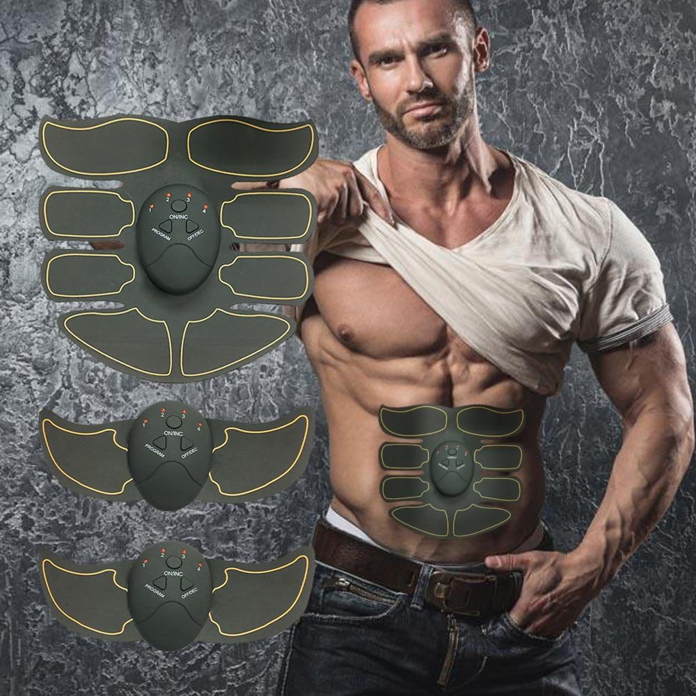 лучшая цена Muscle Stimulator Body Slimming Massager EMS Trainer Abdominal Buttocks Arm Leg ABS Stimulator Fat Burning Body Shaping Massage