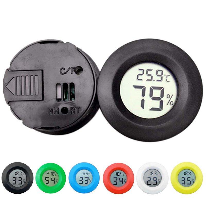 Mini LCD Igrometro digitale Frigorifero Congelatore Tester - Strumenti di misura - Fotografia 2