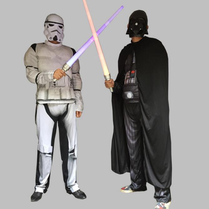 Costume Stormtrooper Star Wars Kylo Ren Stormtrooper adulte enfant Costume Cosplay comprenant Robe/cape casque/masque épée
