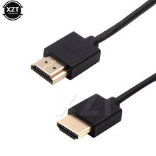 HDMI Cable Video Cables Gold Plated 1.4 1080P 3D High Speed 4K HDMI 2.0 for Splitter Switch TV LCD Laptop PS3 Projector Xbox 360(China)